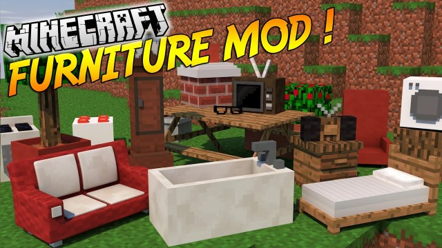 Furniture Mod For Minecraft 1.13/1.12.2/1.11.2