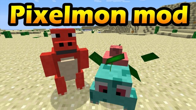 Pixelmon Mod for Minecraft 1 13/1 12 2/1 11 2 | MinecraftRed