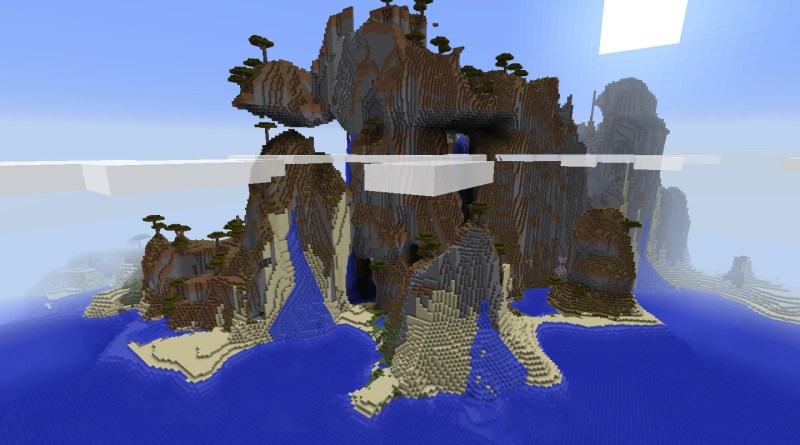 PC 1 8] BEST mountain seed ever! | Minecraft Seeds