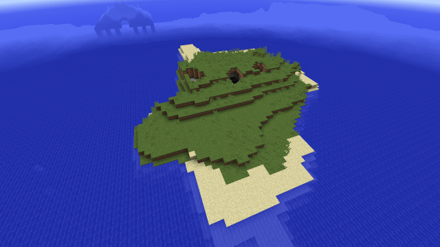 [PC 1.9] Perfect survival island with Ocean Monument