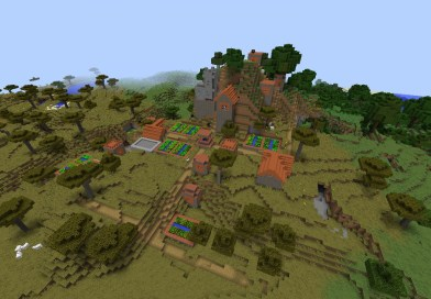[PC 1.11] Savana Village on a Mountain
