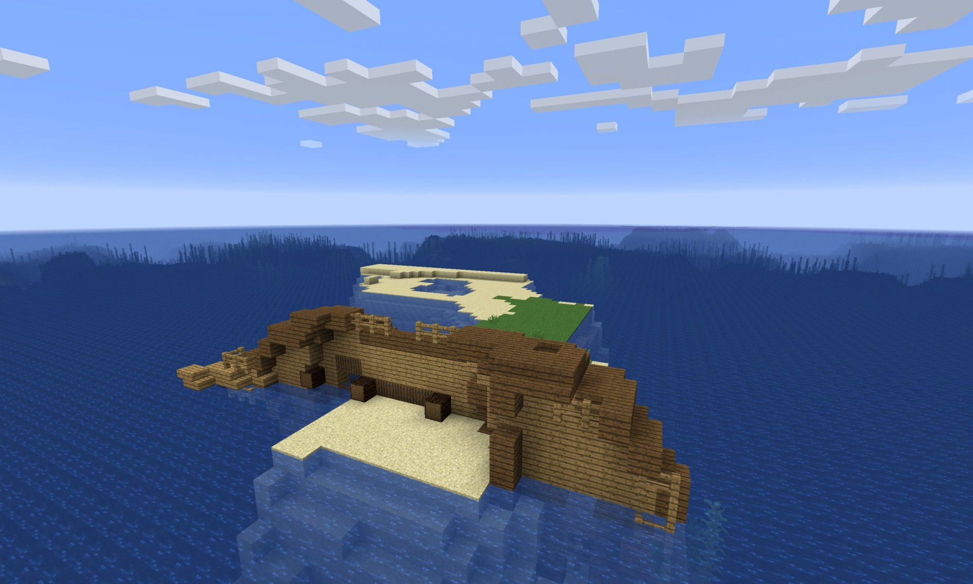 Minecraft Computer Seed Survival Island Expert Event