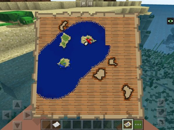 Shipwreck Seed with Buried Treasure Map BedrockPE