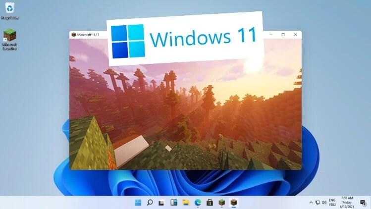 Minecraft 1.17 Shaders on Windows 11