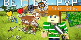 better pvp mod fair-play for minecraft 1.8
