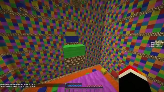 extreme rainbow road parkour mod download
