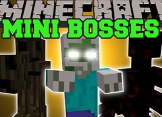 Mini Bosses Mod for Minecraft 1.8