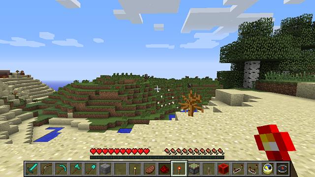 Dual Hotbar Mod for Minecraft 3