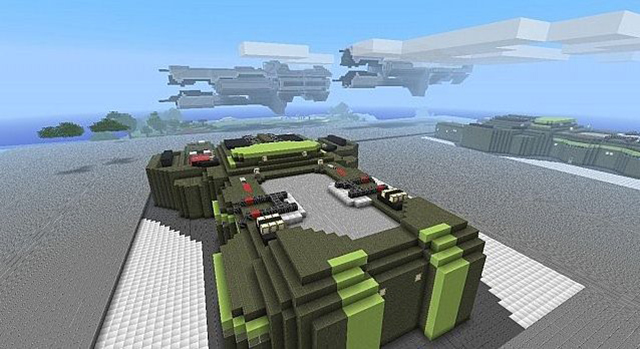 Halo Minecraft Wars Resource Pack 2