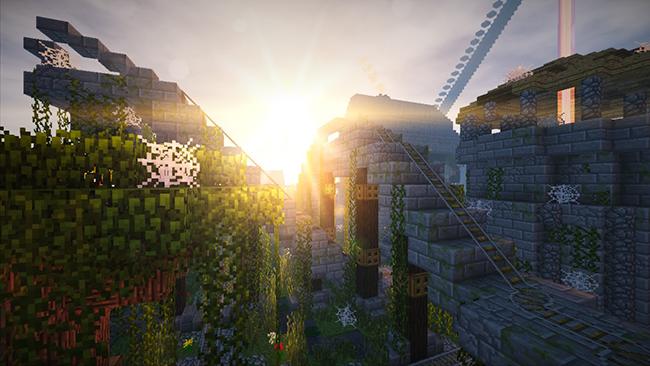 Kuda Shaders Mod for Minecraft