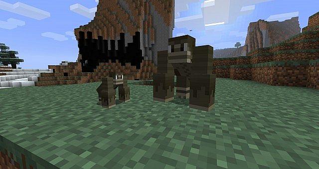 LotsOMobs Mod for Minecraft