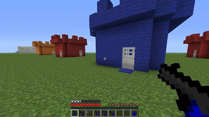 Paintball Mod for Minecraft