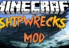 Shipwrecks Mod for Minecraft 1.8