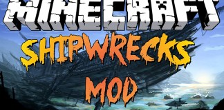 Shipwrecks Mod for Minecraft 1.8