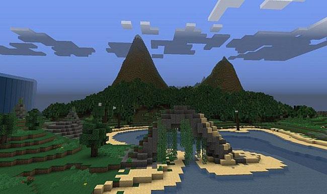 The Sunken Island Adventure Map