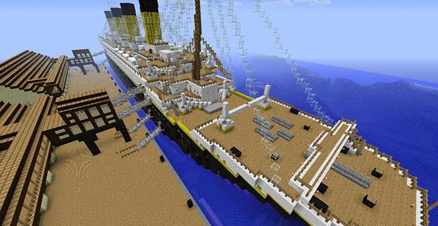 Titanic Map for Minecraft
