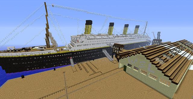 Titanic Map Minecraft