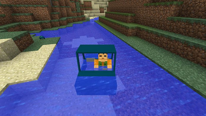 Vehicular Movement Mod for Minecraft