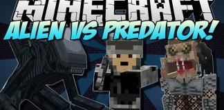 Aliens vs Predators Mod for Minecraft