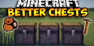 Better Chests Mod for Minecraft