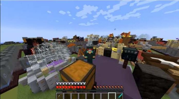 Minecraft Mod Air Balloon - Muat Turun 8