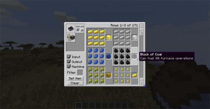 Craftguide Mod for Minecraft