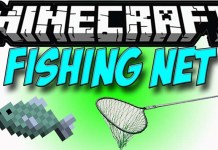 Fishing Nets Mod for Minecraft
