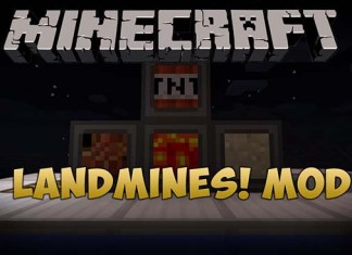 Landmines Mod for Minecraft