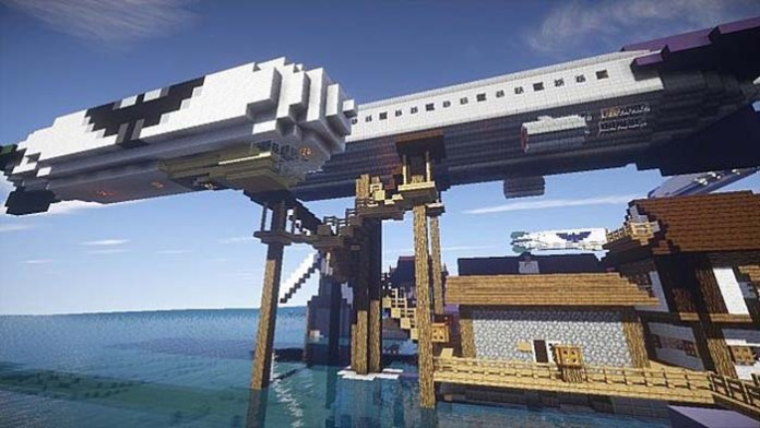 Movecraft Reloaded Mod for Minecraft