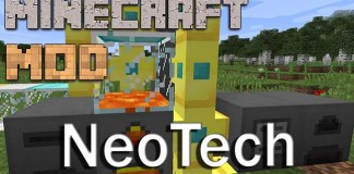 NeoTech Mod for Minecraft