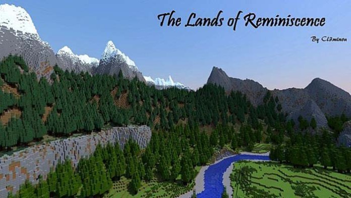 The Lands of Reminisnce Map for Minecraft