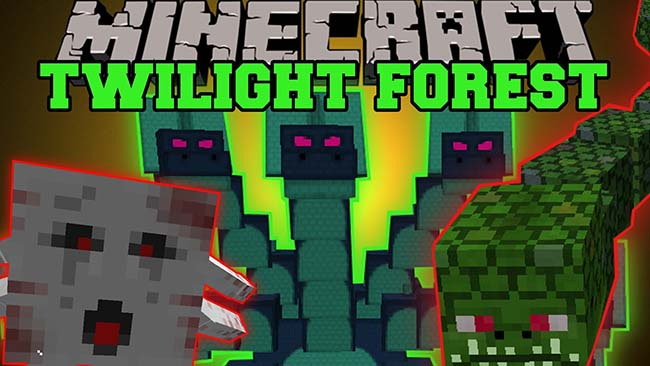 Twilight Forest Mod for Minecrat