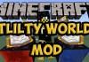 Utility Worlds Mod for Minecraft