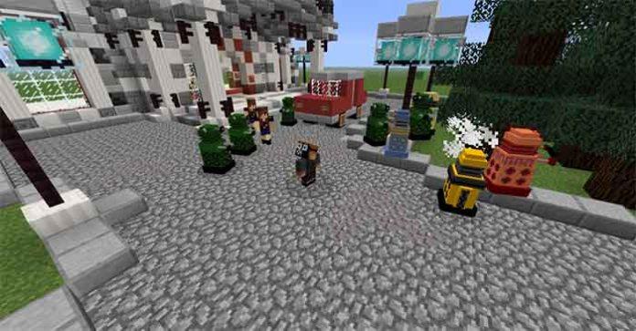 Dalek Mod for Minecraft