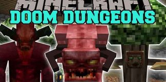 Doomlike Dungeons Mod for Minecraft