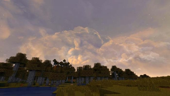 Dramatic Skys Resource Pack for Minecraft