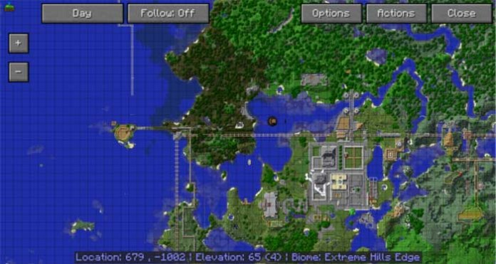 Map 111 2.Journey Map For Minecraft 1 12 2 1 11 2 Minecraftside