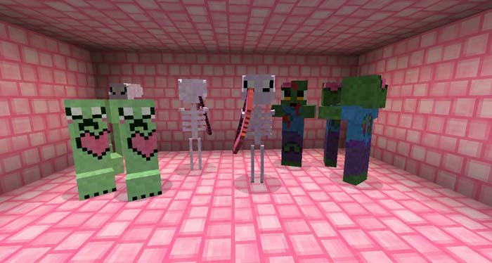 Kawaii World Resource Pack for Minecraft