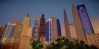 Skyscraper City Map for Minecraft