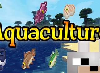 Aquaculture Mod for Minecraft