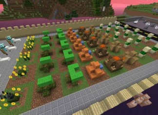 Cubes vs Zombies Map for Minecraft