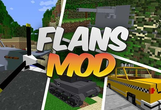 Flan's Mod for Minecraft
