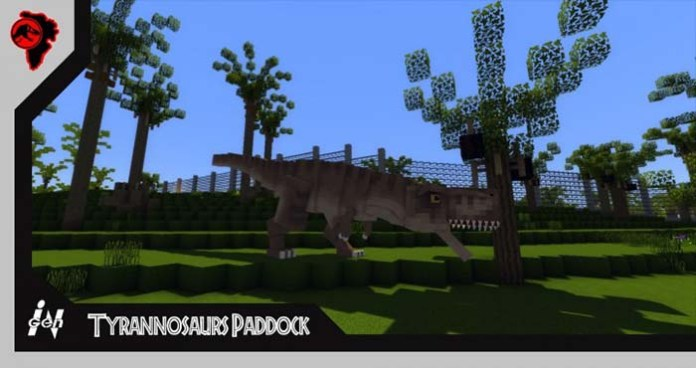 Jurassic Park 2.0 Map for Minecraft
