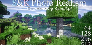 S&K Photo Realism Resource Pack for Minecraft