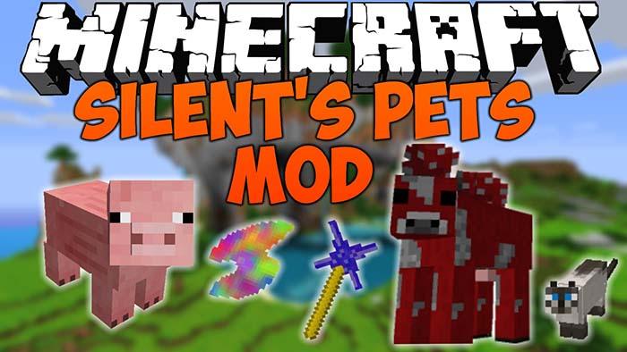 Silent S Pets Mod For Minecraft 1 7 10 Minecraftside