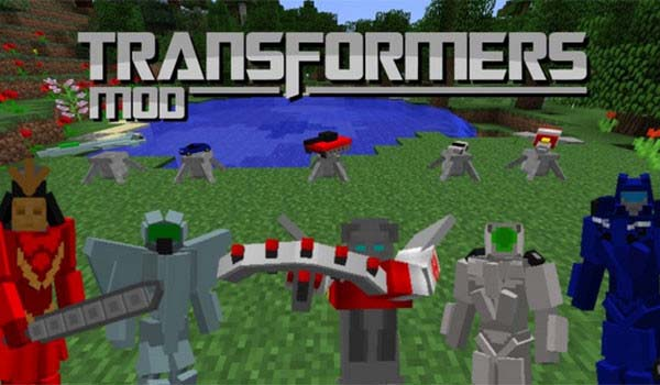 Transformers Mod for Minecraft