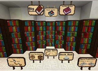 Bibliocraft Mod for Minecraft