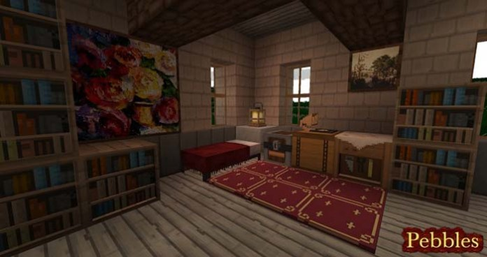 Pebbles Resource Pack for Minecraft