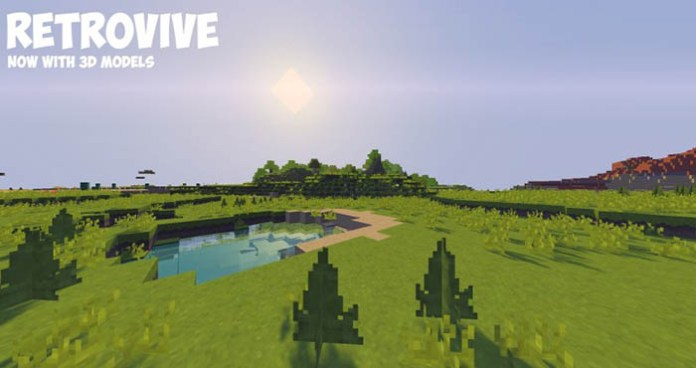 Retrovive Resource Pack for Minecraft