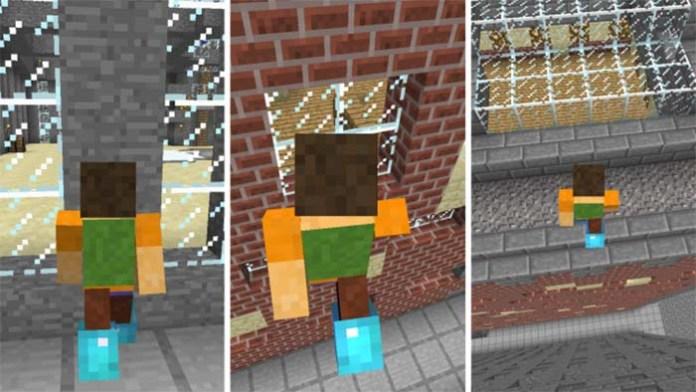 Wall Jump Mod for Minecraft